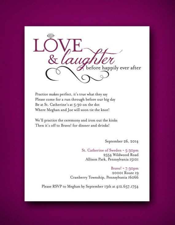64c76325262d Love   Laughter Before Happily Ever After Wedding Rehearsal
