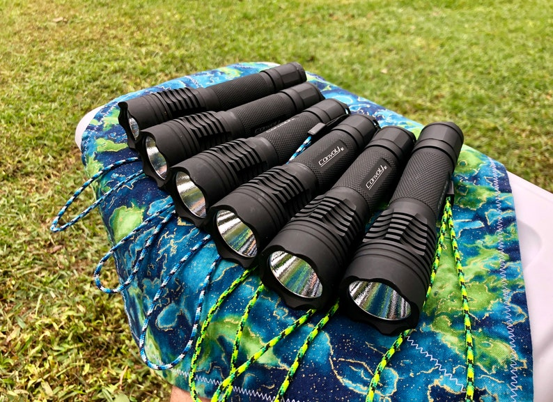 Custom Convoy M1 Flashlight 2200+ lumens