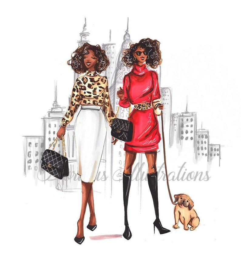 Fashion Girls of New York Dark Skintone Fashion image 0
