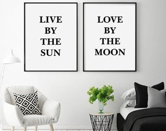Love Quotes Wall Art Etsy