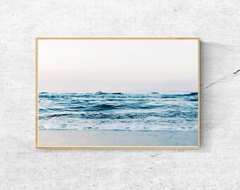 0cde2287 Beach Print, Beach decor, Printable Beach Wall Art, Large Nature Prints, Ocean  Print, Ocean Photography, Sea Wall Art Print, Ocean Poster
