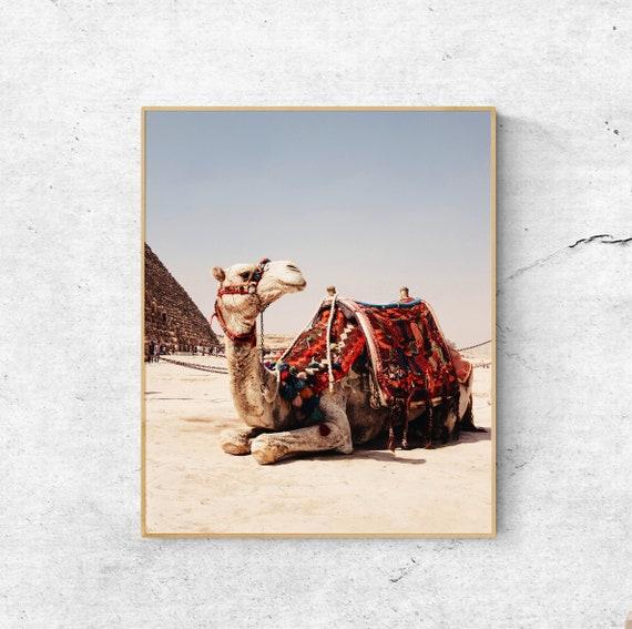 Bohemian Print Camel Print DIGITAL prints DOWNLOADABLE prints Desert Animal Wall Art Boho Print Printable Animal Head Boho Art Print