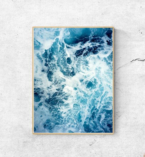 Ocean Art Print Ocean Waves Print Ocean Wall Art Ocean | Etsy