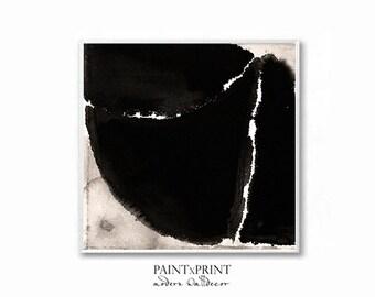 Abstract art print, Black and white print, Wall art prints, Abstract wall art, Digital print, Large Wall art printable, Minimalist art print