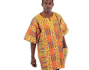 Africa Traditional  Kente Dashiki - Style #1