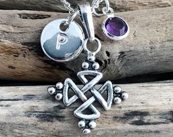 Celtic Knot Necklace CLT042