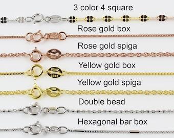 West Coast Jewelry Sterling Silver 1.65mm Twisted Herringbone Chain