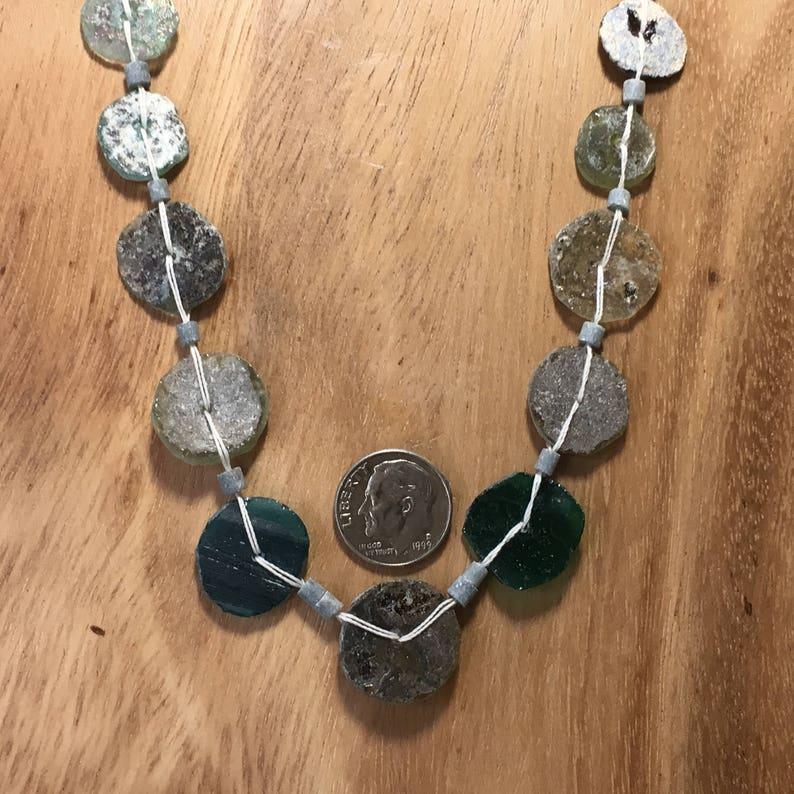Roman Glass Beads Ancient Antique OOAK    RG-159