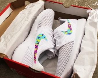Nike Bel-air White Roshe Run One Custom