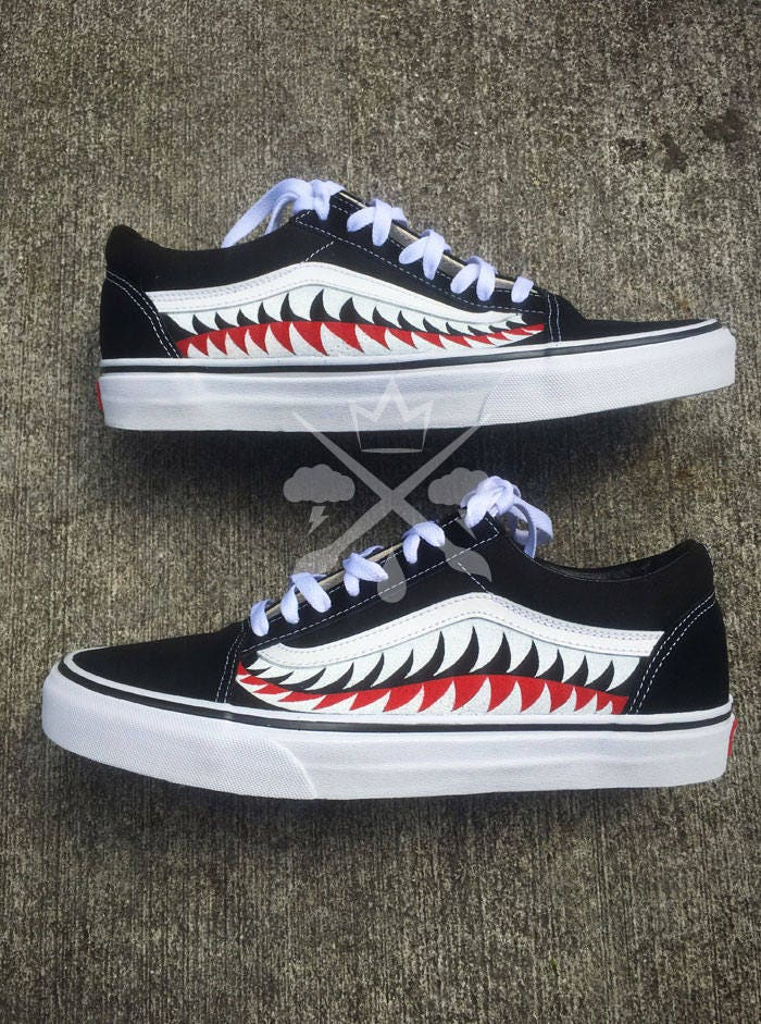 321b049150b ... Ape Old Skool Custom Vans Classic Sneaker. gallery photo gallery photo