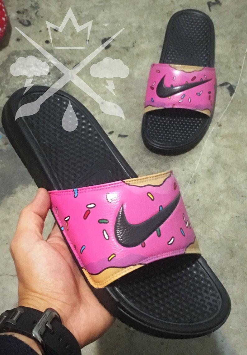 6d98efe6c Nike Custom The Simpsons Pink Doughnut with Sprinkles Homer