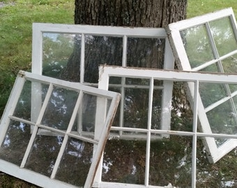 Reduced Vintage Windows/ Old Windows