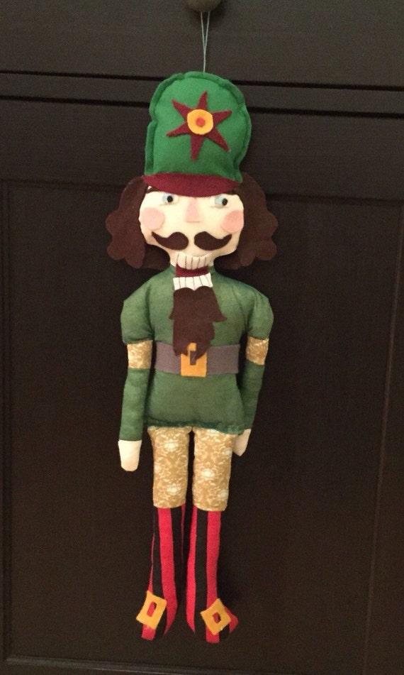 Nussknacker Weihnachten Kuscheltier Ornament. Weihnachten | Etsy