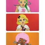 Girl Gang A3 Illustrated Art Print Unframed