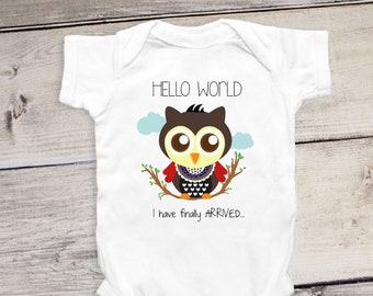 8b74b41d4 Funny Newborn Onesie® Started From The Belly Now I m