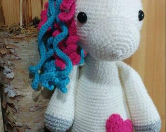 Handmade crochet Unicorns