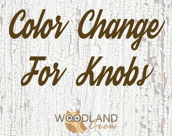 Color Change For Knobs