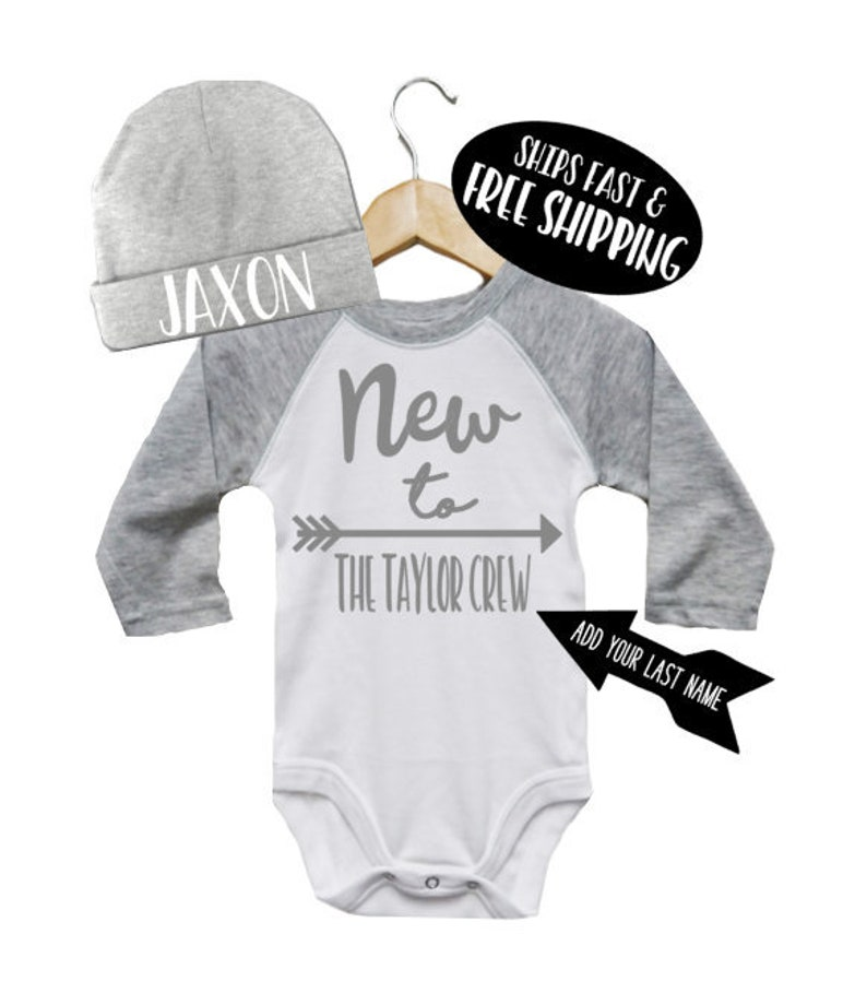 ddb4050c4 Newborn Boy Coming Home Outfit Personalized Baby Boy Hat