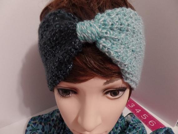 Ear warmer headband tunisian crochet headband head warmer  ac079eb7408