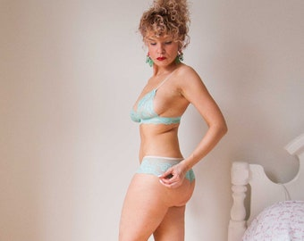 Seafoam Classic Brazilian Underwear