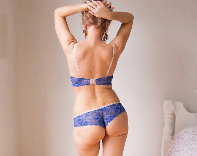 READY TO SHIP - Periwinkle Classic Brazilian Underwear