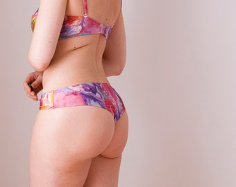 Floral cheeky bottom