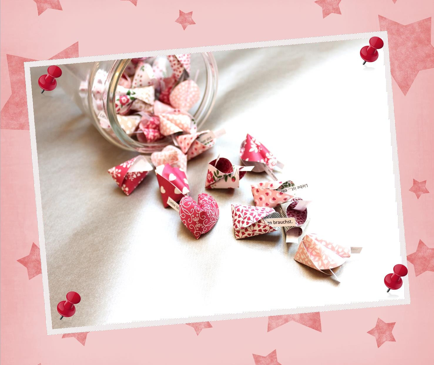 Paper Fortune Cookies-10 pieces-love is...Guest