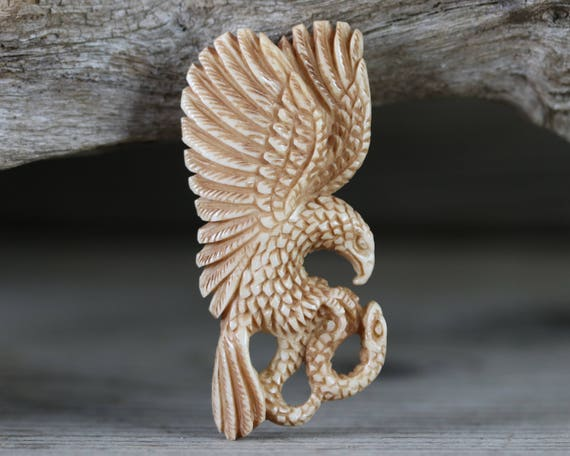 Hand Carved Bone Unique Jewelry Embellishment Bone Carving Etsy