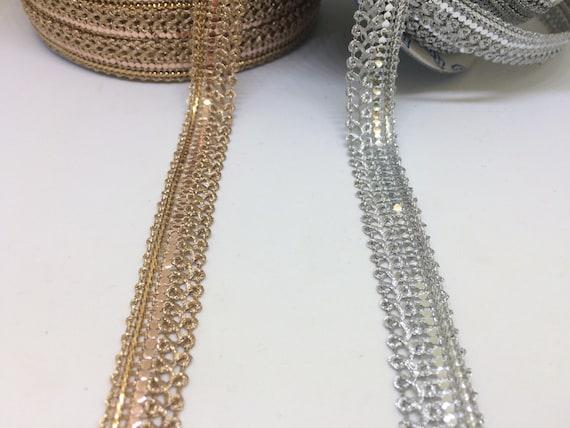 Pietra e Perla Strass CERCHIETTO APPLIQUE 10 Indiano Tiny finitura oro Round
