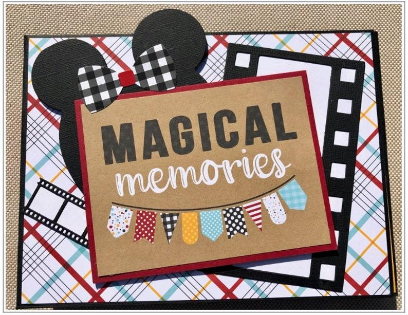 PRE-ORDER Magical Memories Disney Trifold Folio Mini Album image 0