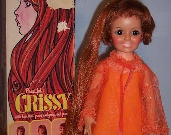 Near Mint Ideal Crissy Doll with box