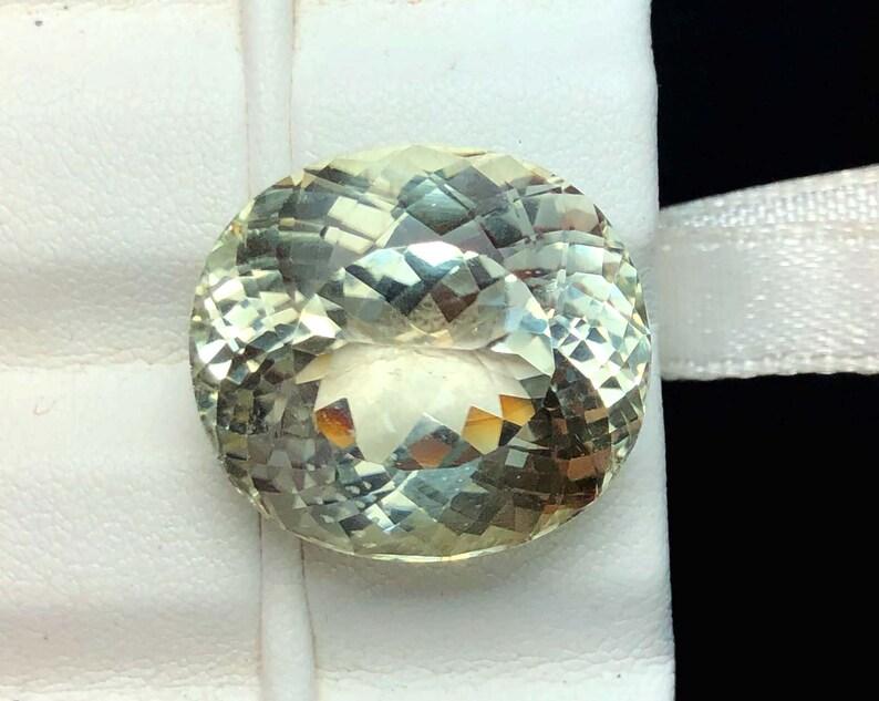 Natural Triphane Var Kunzite Loose Gemstone Eye Clean 32.10 Carats