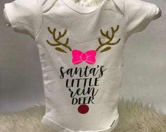 Santa's Little Reindeer Onesie