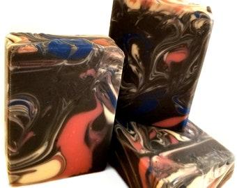 Cosmos Soap / Handmade Soap / Essential Oil Soap / Natural Soap / Palm Free Soap / Universe Soap / Bar Soap