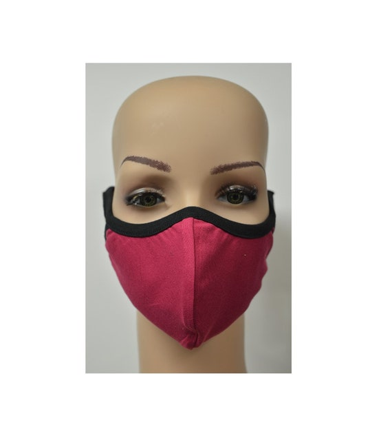 Handmade Organic Cotton Recycled Reusable Face Masks Sustainable Fabric Reversible Covering Below Cost C4
