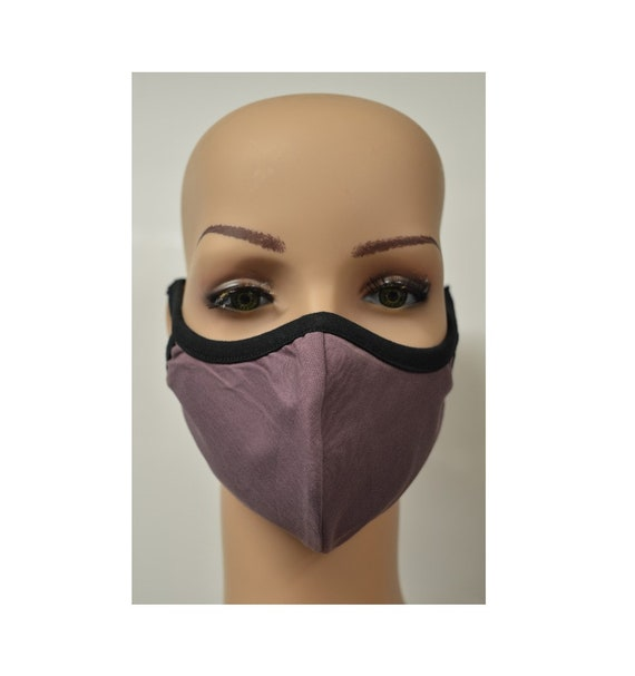 Handmade Organic Cotton Recycled Reusable Face Masks Sustainable Fabric Reversible Covering Below Cost C6