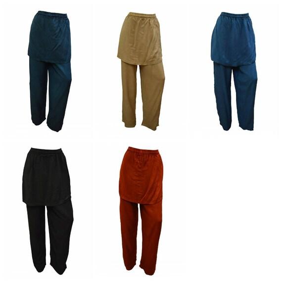 Womens Harem Palazzo Overlay Wide Leg Holiday Yoga Pants Trousers Size 14- 22