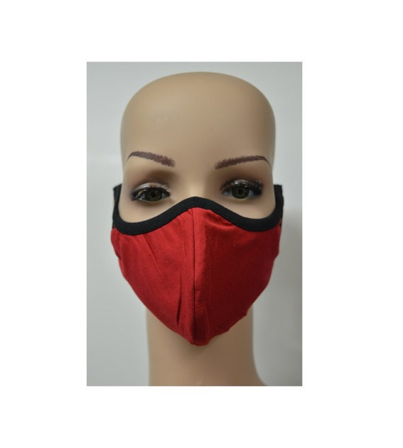 Handmade Organic Cotton Recycled Reusable Face Masks Sustainable Fabric Reversible Covering Below Cost C2