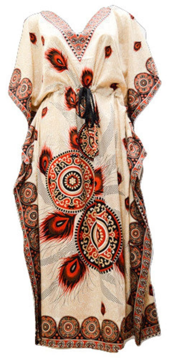 Toraway Loose Causal Dress Women/'s Printed Sleeveless V-Neck Maxi Dress Split Hem Baggy Kaftan Long Dress