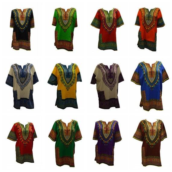 Womens Ladies Boho Plus Size Cotton Dashiki Bohemian Hippie Loungewear Top Freesize Up To 28 M 7-12