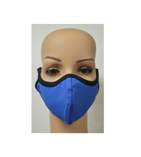 Handmade Organic Cotton Recycled Reusable Face Masks Sustainable Fabric Reversible Covering Below Cost C8