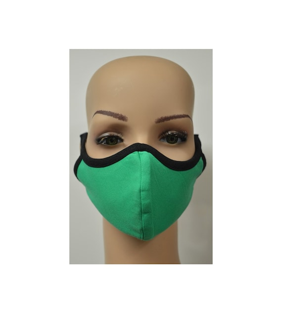 Handmade Organic Cotton Recycled Reusable Face Masks Sustainable Fabric Reversible Covering Below Cost C5