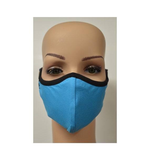 Handmade Organic Cotton Recycled Reusable Face Masks Sustainable Fabric Reversible Covering Below Cost C3