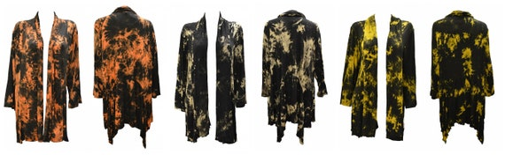 Womens Plus Size Cardigan Lightweight Marble effect Open Shrug Free Size 14- 26