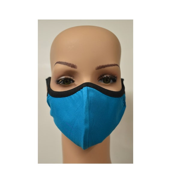 Handmade Organic Cotton Recycled Reusable Face Masks Sustainable Fabric Reversible Covering Below Cost C1