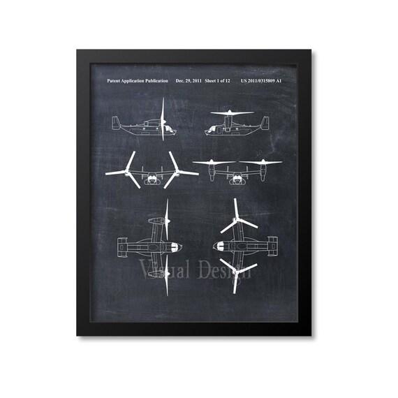 v 22 osprey tiltrotor aircraft patent print patent art print etsy Dolphin Diagram image