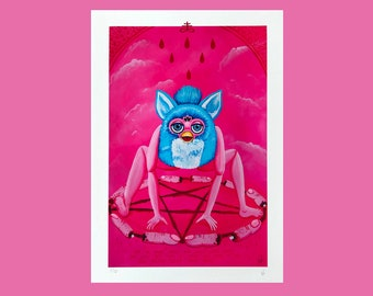 Furby A4 Giclee Prints
