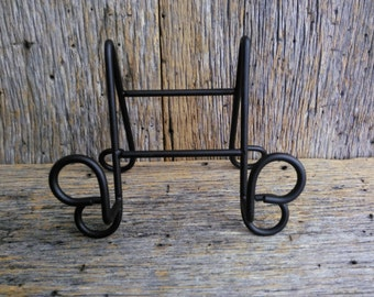 Display stand Table top plate rack plate holder plate display trivt holder & Metal plate rack plate holder plate hanger plate display