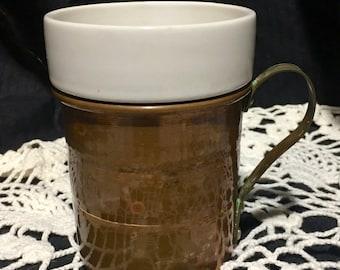 022cb8836fe Copper coffee mug | Etsy