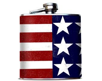7c48ccbf4cf7 Patriotic flask